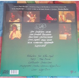 Yes: Close to the edge LP