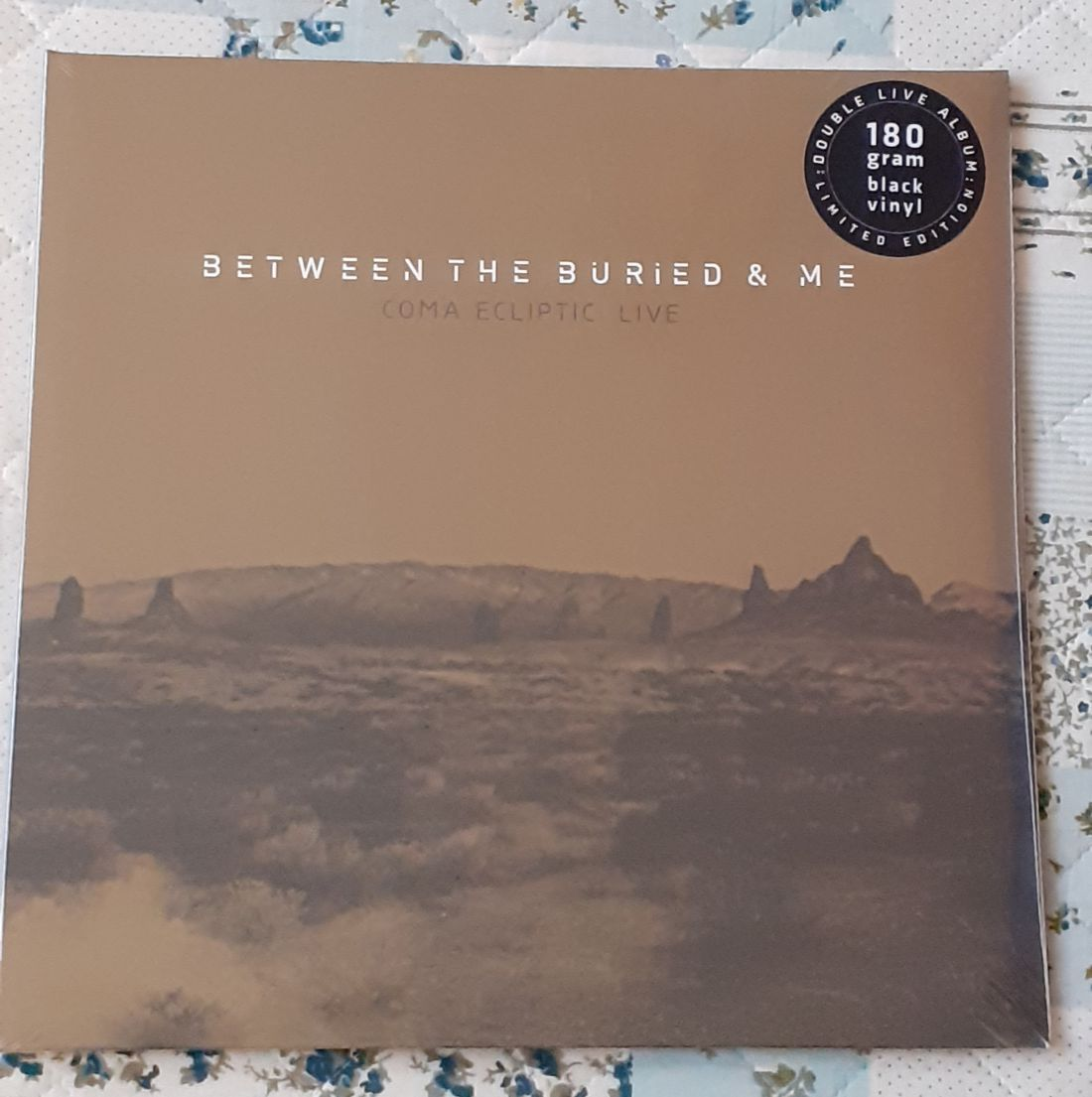 Between the buried and me: Coma ecliptic Live 2 LP