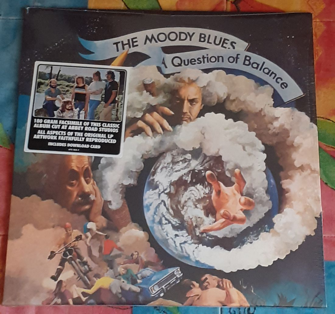 The Moody Blues: A Question of Balance LP