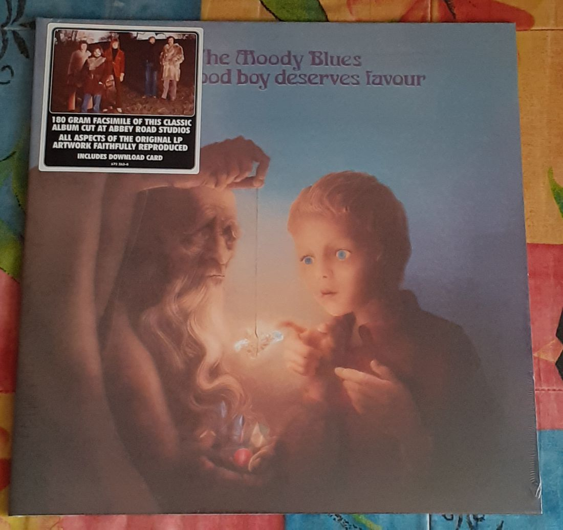 The Moody Blues: Every good boy deserves favour LP